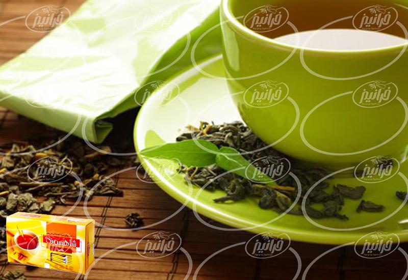 پخش اینترنتی چای زعفران قاشقی صادراتی