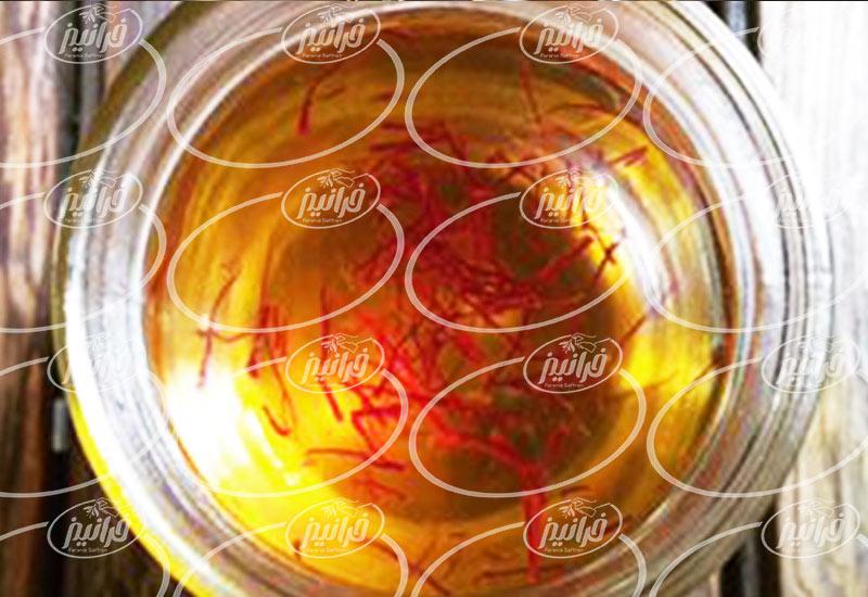 فروش شربت زعفران با بهترین کیفیت
