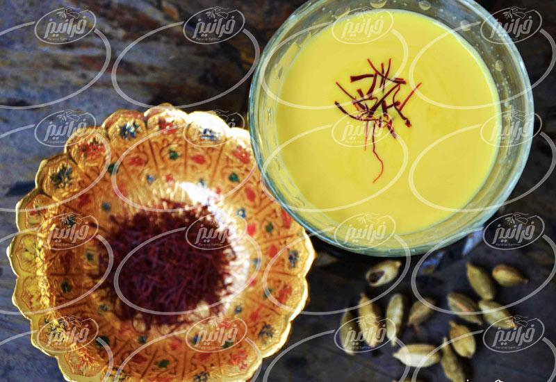 صادرات پودر نوشیدنی زعفرانی به کردستان