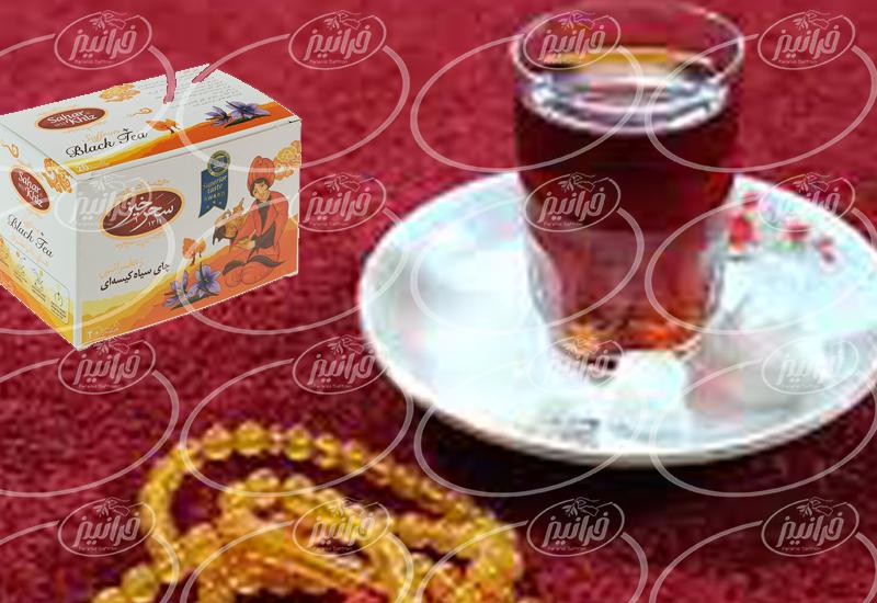 مرکز اصلی چای زعفران سحرخیز مرغوب