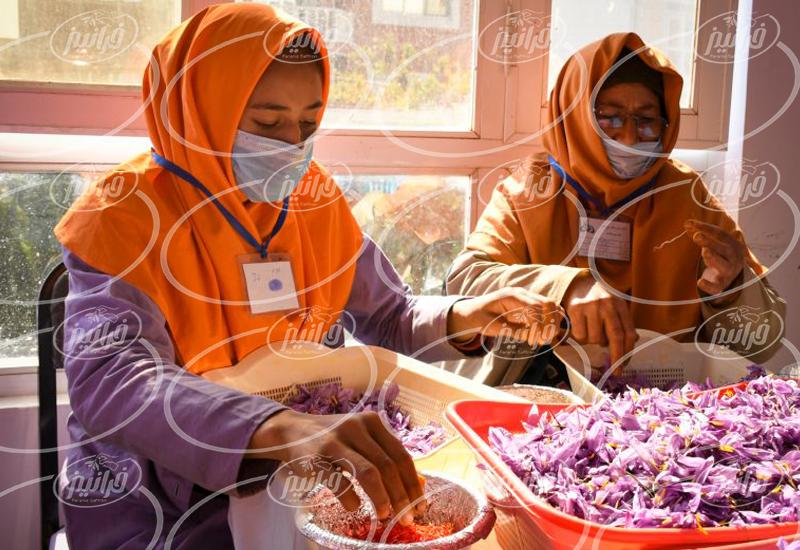 میزان فروش رنگ زعفران مایع در عطاری ها