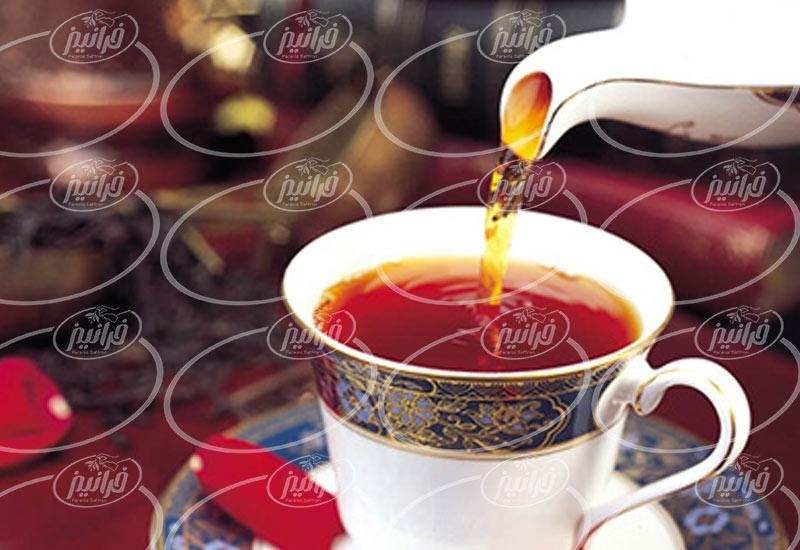 خریداری چای زعفران مصطفوی با اشانتیون