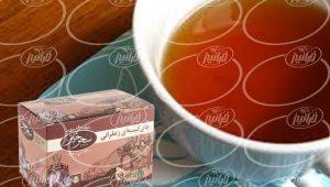مرجع بزرگ چای سیاه زعفرانی سحرخیز