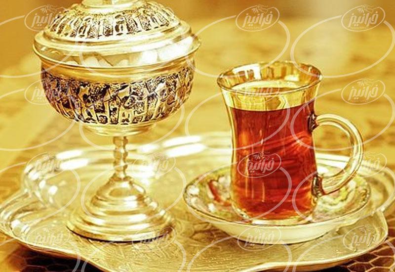 سفارش چای زعفران تهران با قیمت عالی