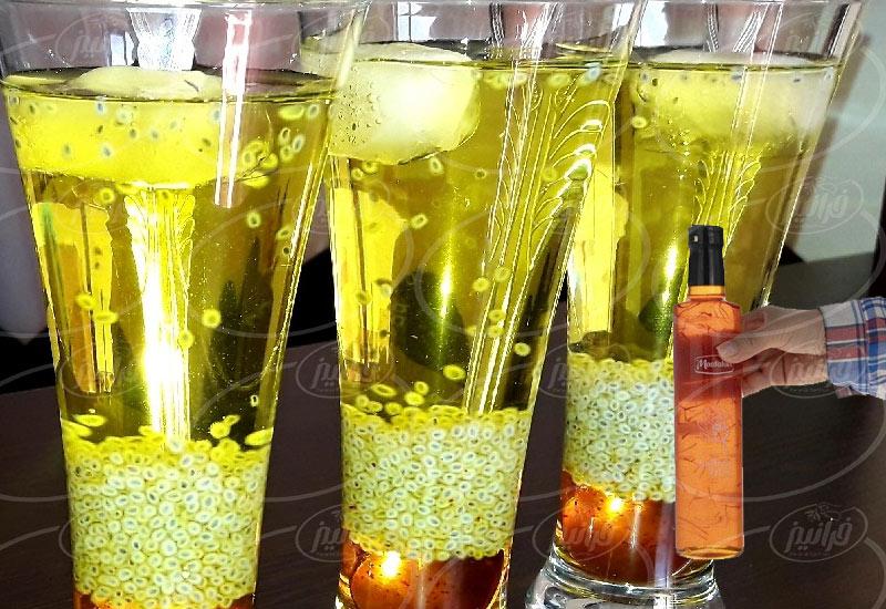 خرید شربت زعفران مصطفوی با کارتن های ۱۲ تایی
