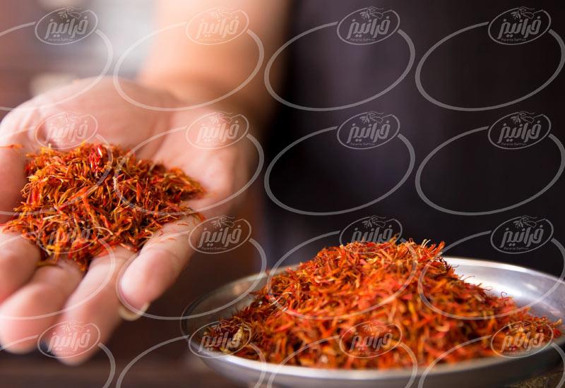 تجارت چای سیاه زعفران در جهان