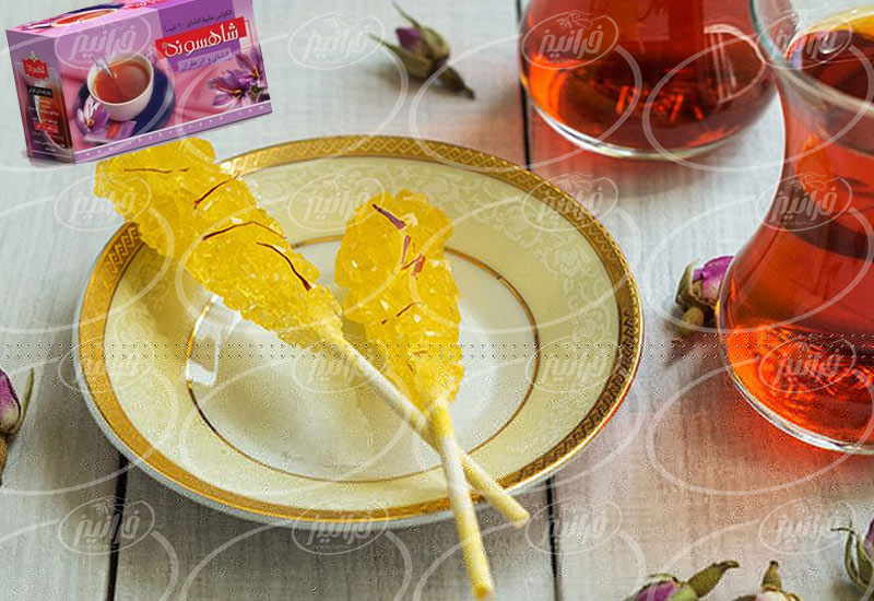پخش چای زعفرانی شاهسوند درجه یک