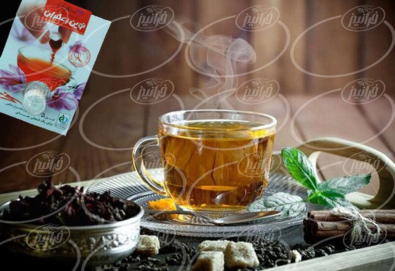 تولید دمنوش نوین زعفران مناسب صادرات