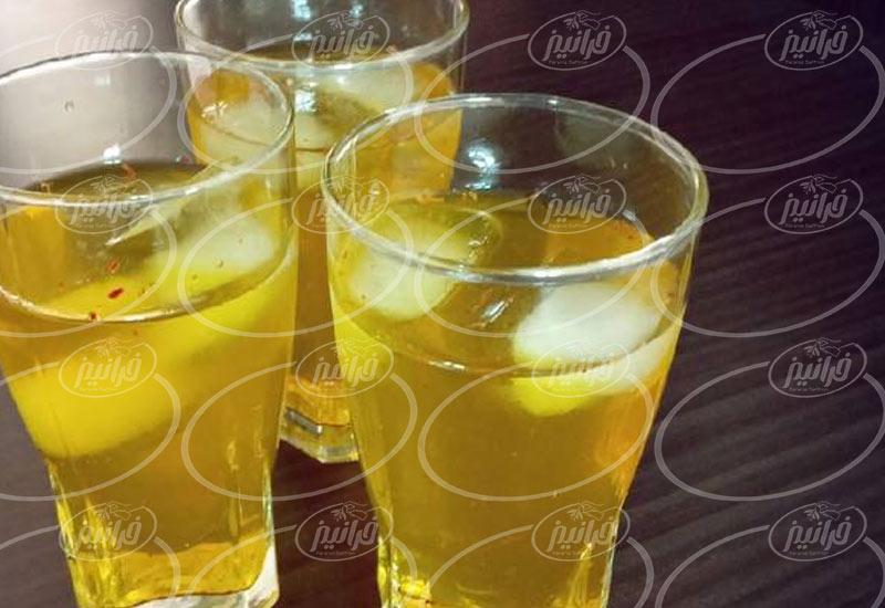 خرید اینترنتی شربت زعفران ۶۵۰ گرمی