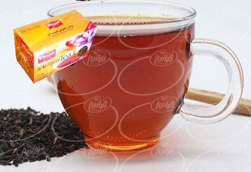 به دست آوردن چای زعفران ادمان