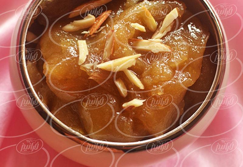 فروش حرفه ای پودر ژله زعفرانی 110 گرمی