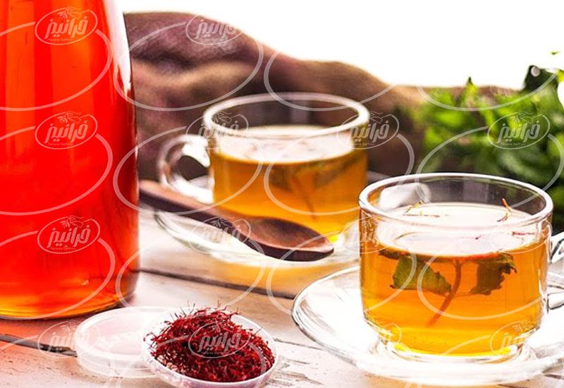 معاملات برون مرزی چای زعفران کیسه ای